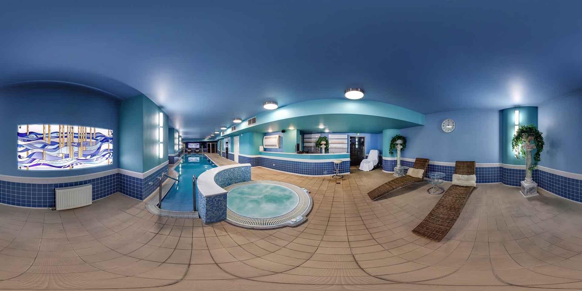 virtual tour 360 foto panoramiche centro benessere e spa