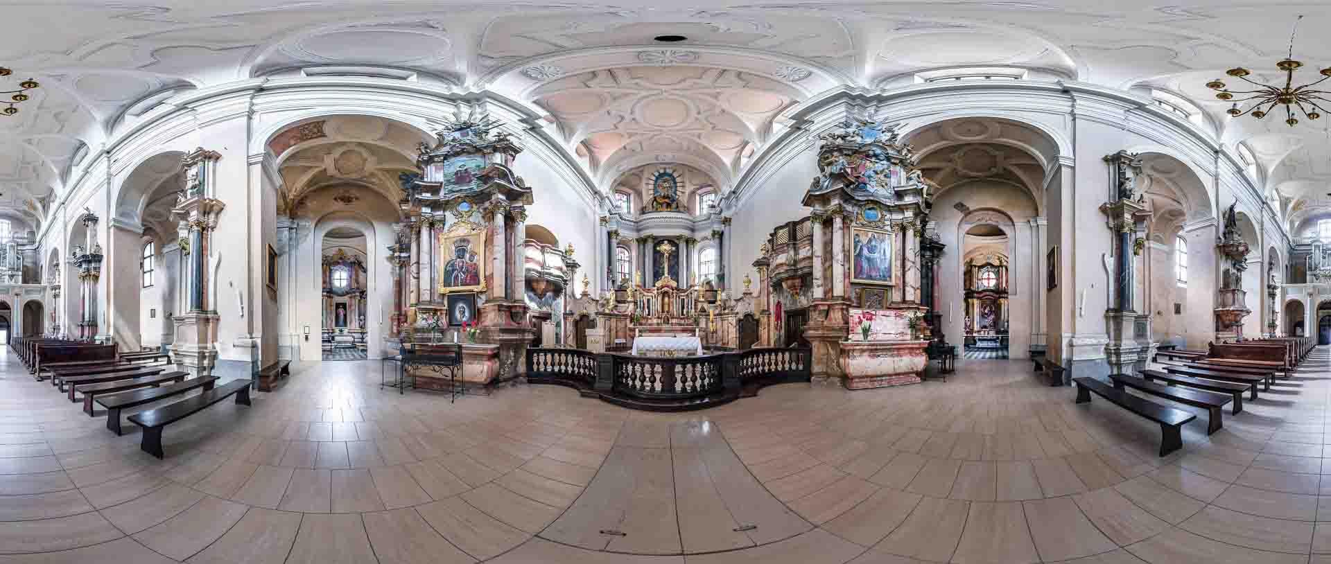 virtual tour 360 foto panoramiche beni culturali artistici religiosi