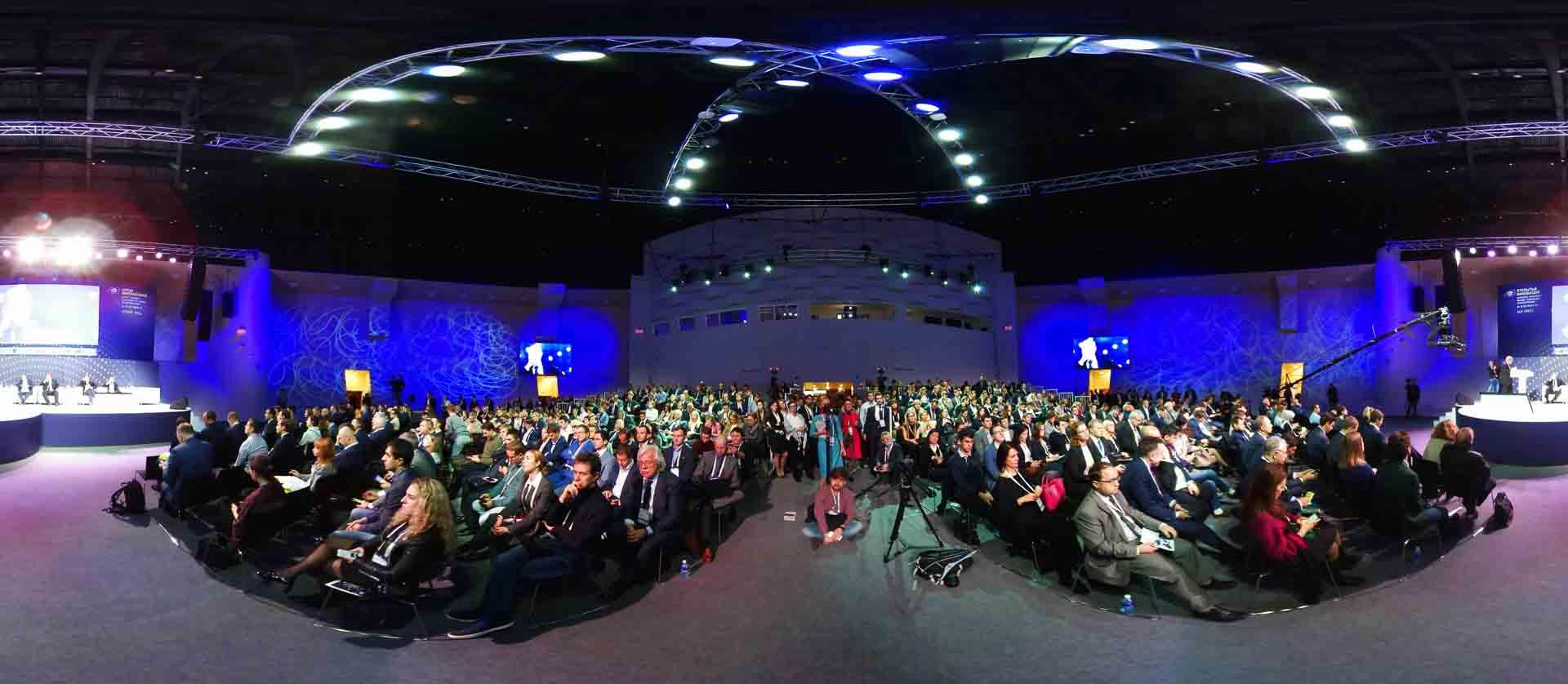 virtual tour 360 foto panoramiche eventi aziendali e conferenze