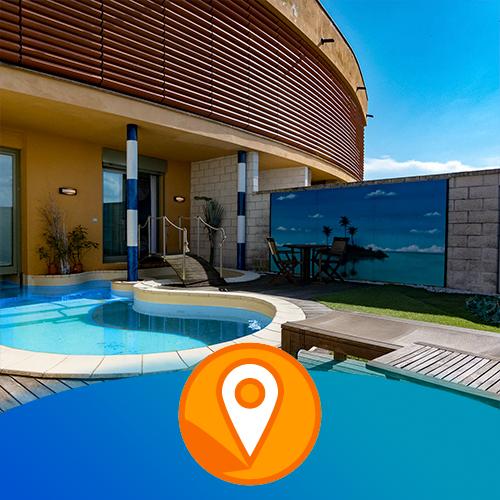 realizzazione virtual tour novara motel piranha hotel